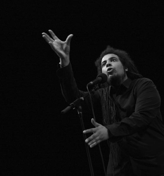 Julien Delmaire au théatre de vals 13 mars 2009