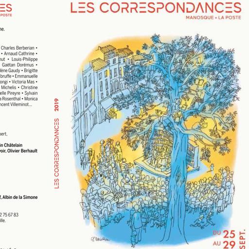 Couverture du programme Les Correspondances