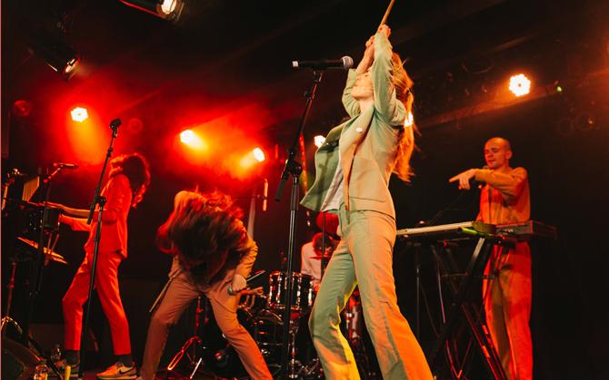 Concert de Blandine Rinkel avec le groupe Catastrophe