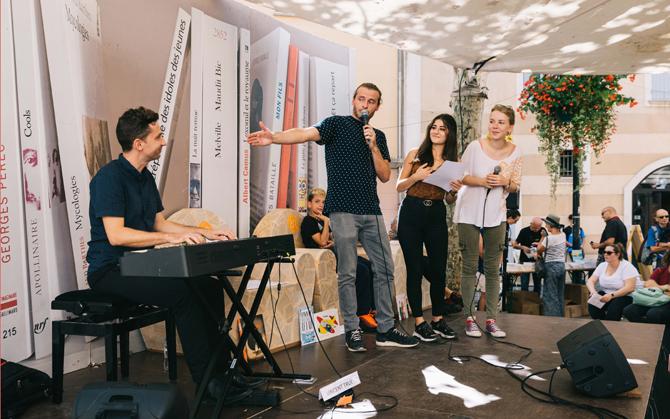Karaoké littéraire avec Raphaël France-Kullmann & Vincent Truel