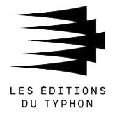 Les éditions du Typhon