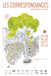 Affiche Les Correspondances 2018