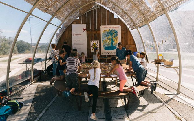 L'association Éclat de Lire anime la partie jeunesse du festival