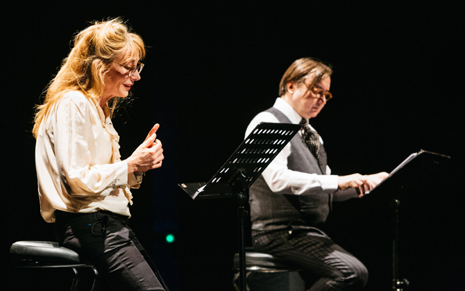 Grande lecture par Julie Depardieu & Michel Fau : Sand et Flaubert